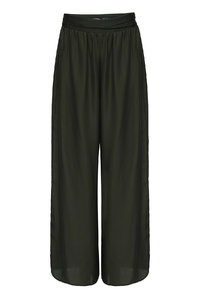 Green Wide Legged Trousers