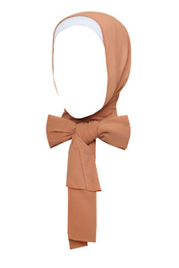 Copper Tan Plain Hijab