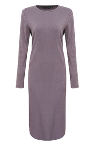 Castle Ribbed Midi Dress