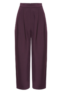 Plum Wide Legged Trousers