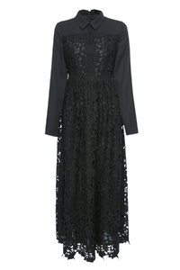 Black Riddle Dress