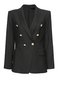 Ebony Iconic Blazer