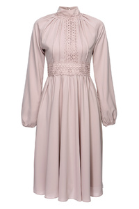 Grace Dusty Pink Midi Dress