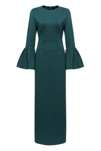Emerald Belle Sleeve Dress
