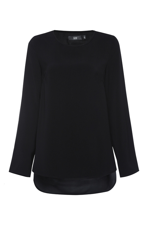 Black Dress Top [Size: 6]