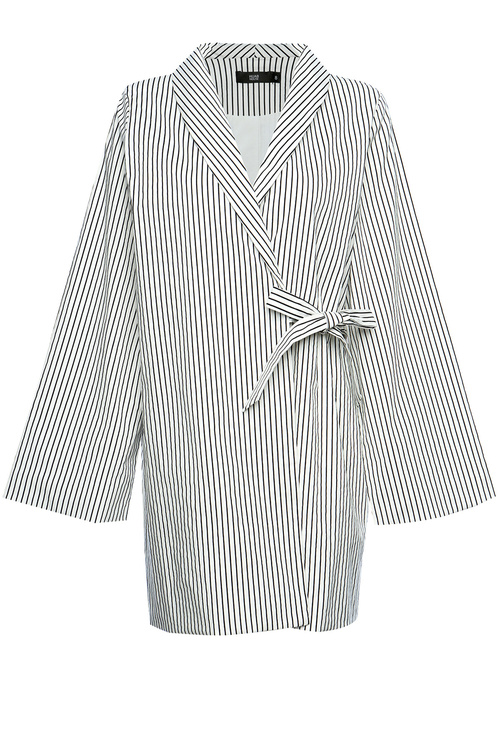 Striped Tie Blazer [Size: 6]