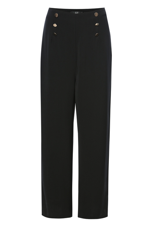 Black Military Trousers [Size: 6]