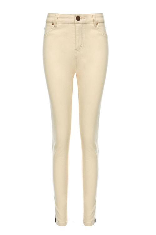 Nude Slim Jeans [Size: 6]