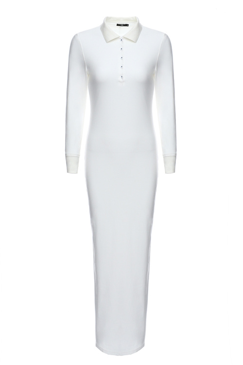 White Polo Dress [Size: 6]