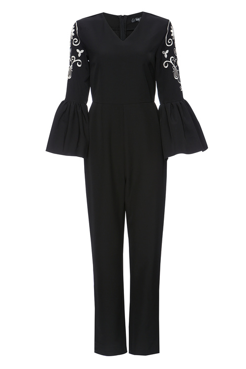Bell Sleeve Jumpsuit [size: 6]