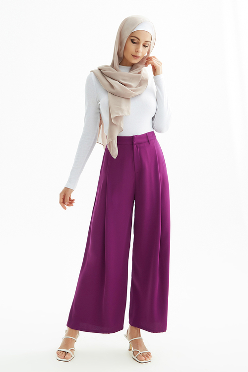 Plum Trousers [Size: 6]